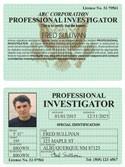 Professional Investigator Classic Folio