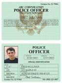 Police Officer Classic Folio