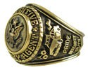Men's Fugitive Recovery Bronze Insignia Ring