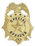 Mini Special Officer Badge
