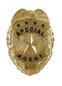 Mini Special Agent Badge