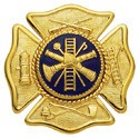 1.75 inch Maltese Smith & Warren Badge M181