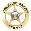 Marshal Style Concealed Weapons Permit Badge