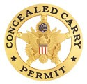 Marshal Style Concealed Carry Permit Badge