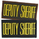 Small Deputy Sheriff Hat or Jacket Patch