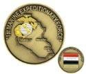 Iraqi Freedom 1st Marine Challenge Coin
