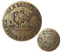 Gem Saloon Brothel Coin