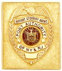3 inch Eagle Top Smith & Warren Badge S155SQ
