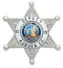 1.67 inch 6 Point Star Smith & Warren Badge S245