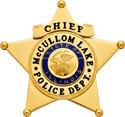 2.75 inch 5 Point Star Smith & Warren Police Badge S252B