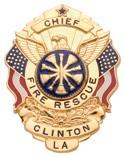 2 in. Eagle Top Smith & Warren Badge S517
