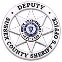 2.625 inch Round 8 Point Star Smith & Warren Sheriff Badge S641