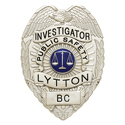 "3.375"" Eagle Top Smith & Warren Custom Badge S91A"