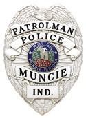 3.375 inch Eagle Top Smith & Warren Police Badge S91J