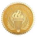 Seal of Achievement 12 Pcs
