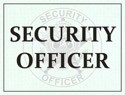 Security Officer Windshield Pass