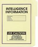 Intelligence Information File Folder 5-Pack