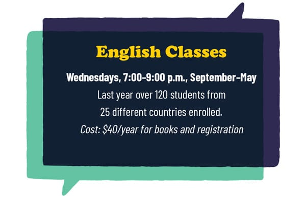 esol class dates and cost