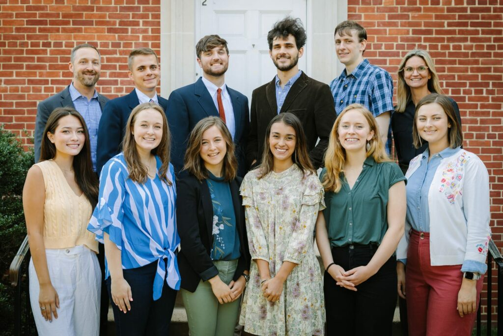 group photo of Fellows Class of 2022