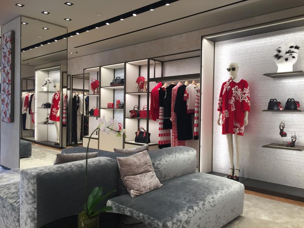 ecedadf6ec03 FENDI opens New Store at Royal Hawaiian Center