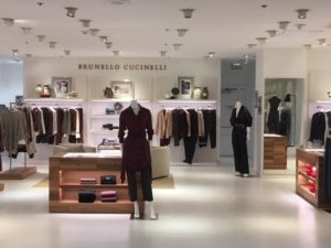 Brunello Cucinelli Opens New Store at Saks Fifth Ave 02f0fe208c79