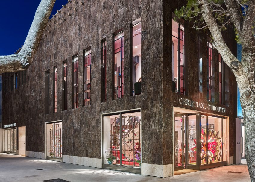 premier taux 96a82 c49f5 Christian Louboutin Unveils New Boutique in Miami's Design ...