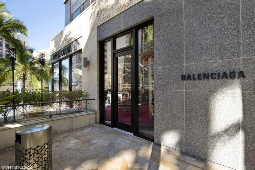 5ebabc602617 Take a Look at the Balenciaga Boutique on Kalakaua Ave
