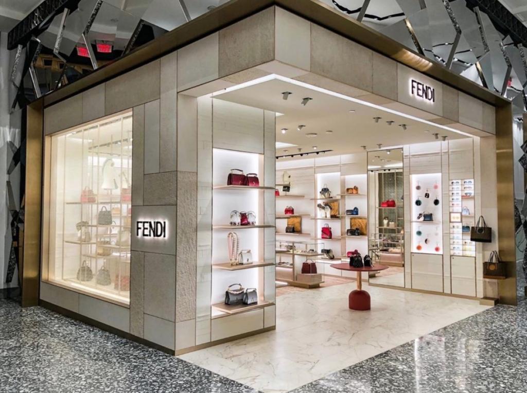 d0e4bd2f6 Fendi New Store in Saks 5th Ave New York