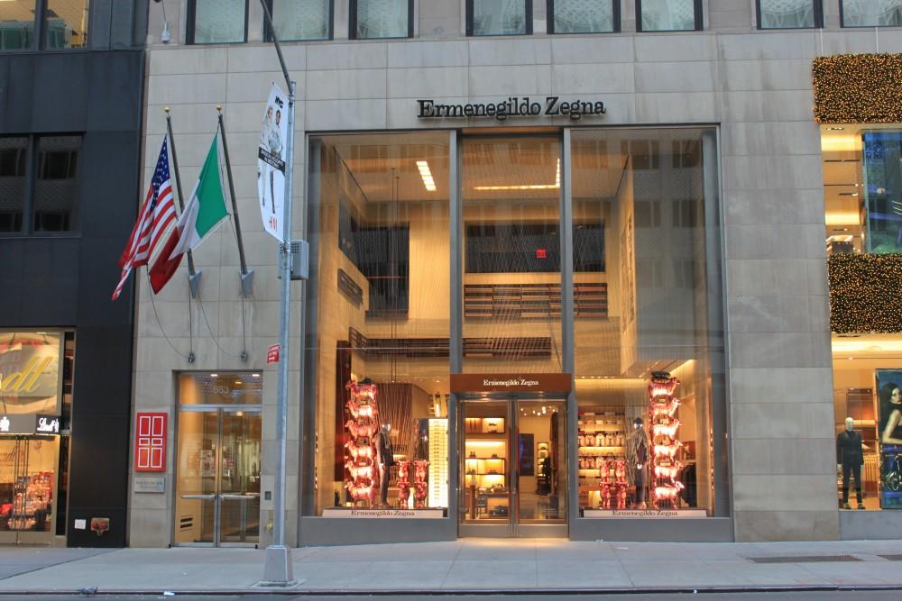 6a9c176b9c Ermenegildo Zegna 663 5th Avenue New York, NY 10022 on 4URSPACE ...