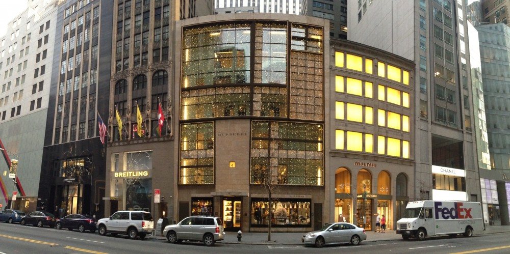 Burberry 9e 57th Street New York Ny 10022 On 4urspace