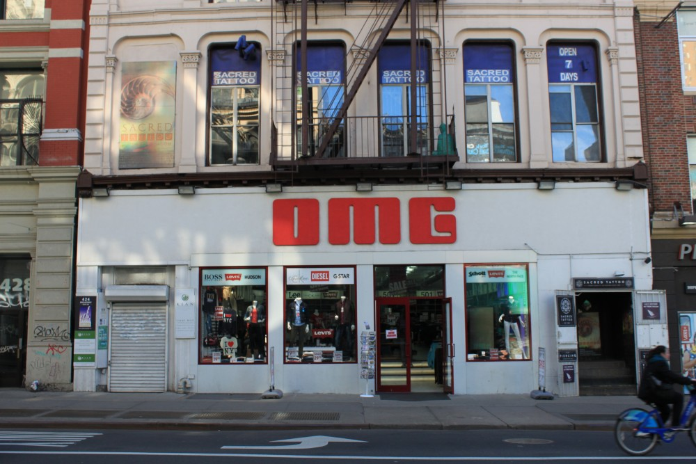 ca61f0bfd59 OMG, The Jeans Store 424 Broadway New York, NY 10013 on 4URSPACE retail  profile