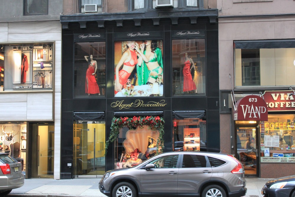 0164452515 Agent Provocateur 675 Madison Av. New York