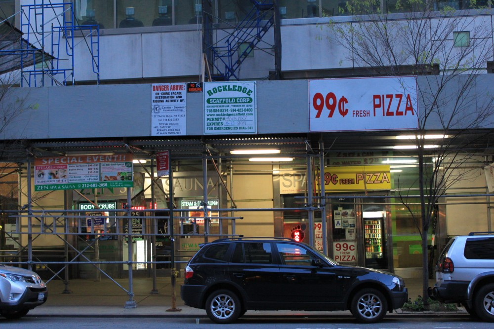 99 Cents Fresh Pizza 325 5th Ave New York NY 10016 On 4URSPACE Retail Profile