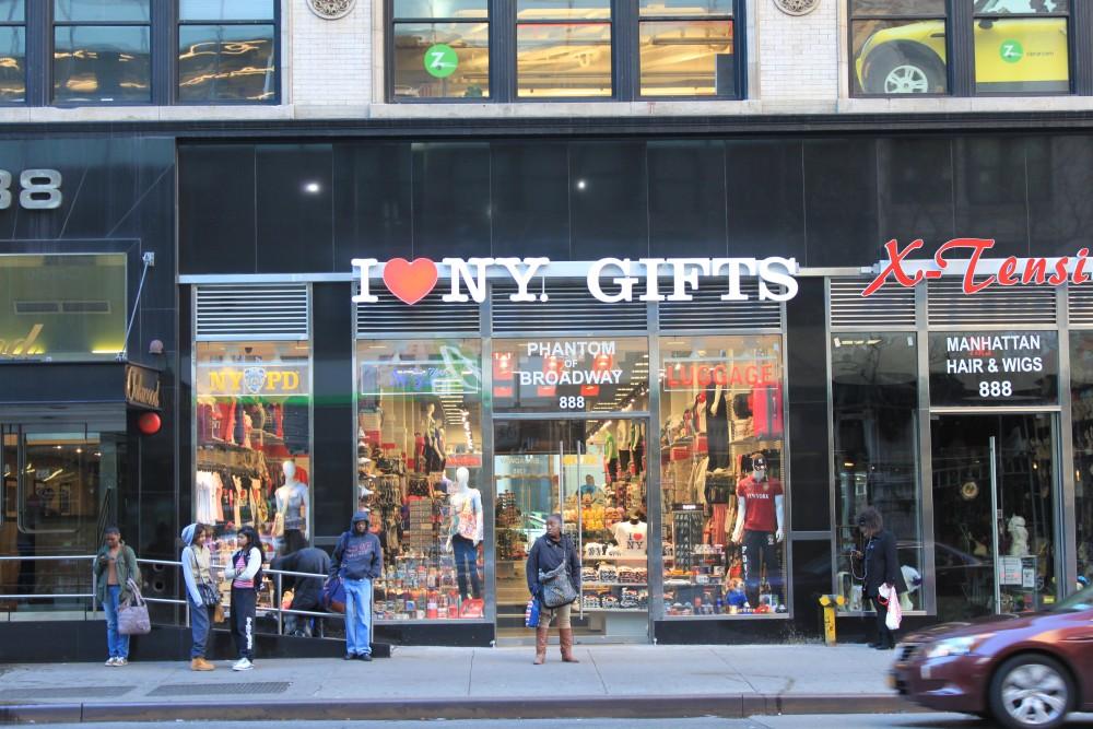 I Love NY Gifts 888 6th Ave New York, NY 10001 on 4URSPACE