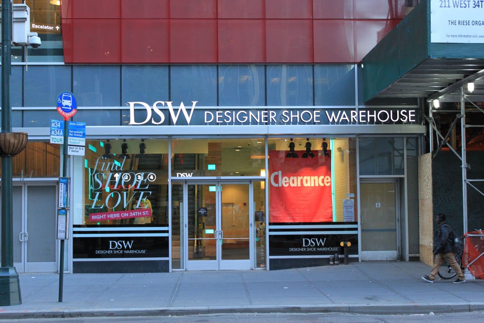Designer Shoe Wearhouse 213 West 34th