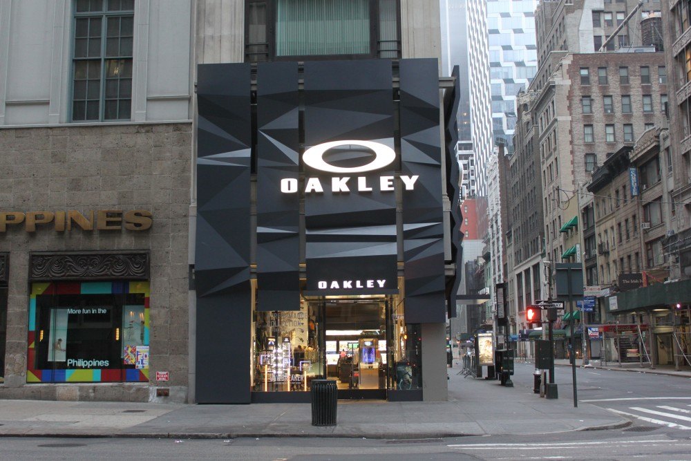 Negozio Oakley New York