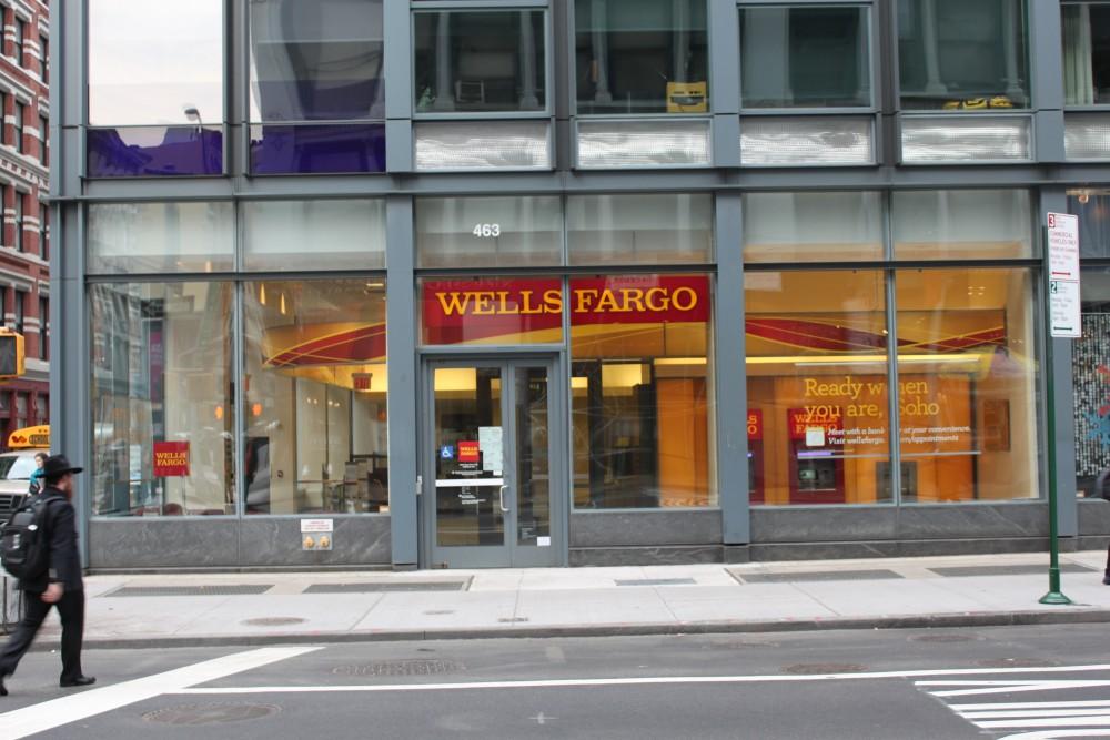 Wells Fargo Bank 463 Broadway New York Ny 10013 On 4urspace Retail Profile