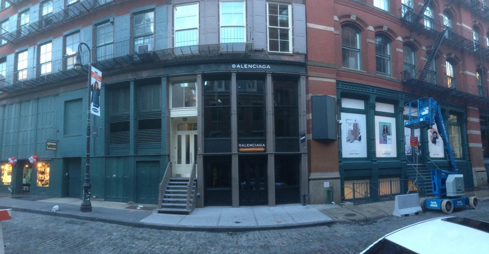 248406c96d839 Balenciaga 148 Mercer St New York