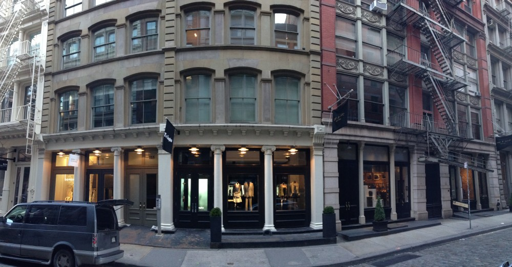 the kooples 115 mercer st new york ny 10012 on 4urspace retail profile. Black Bedroom Furniture Sets. Home Design Ideas