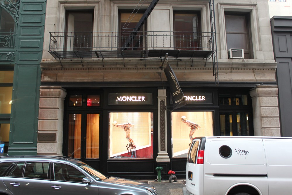 the latest 29b69 51ea8 Moncler 90 Prince St New York, NY 10012 on 4URSPACE retail ...