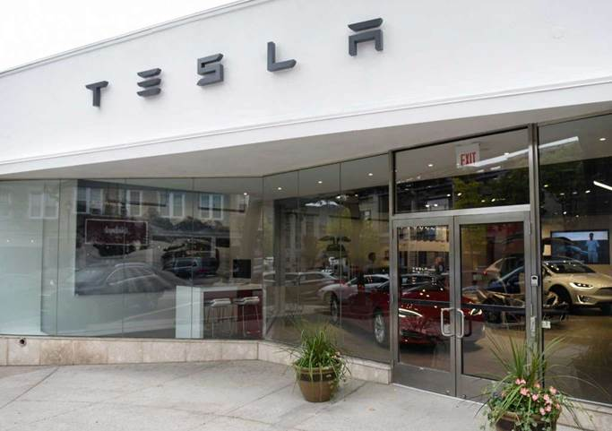 Tesla greenwich ct