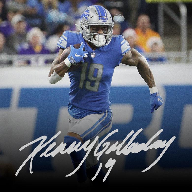 new style 6a7dd 8df05 Kenny Golladay Official Store | Shirts | Detroit Lions | 500 ...