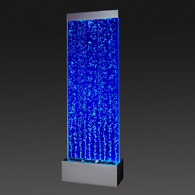 Extra Large Floor Standing Bubble Wall With Colour