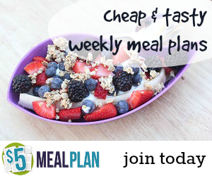 Try $5 Meal Plan!