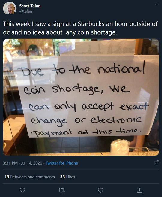 Change Shortage