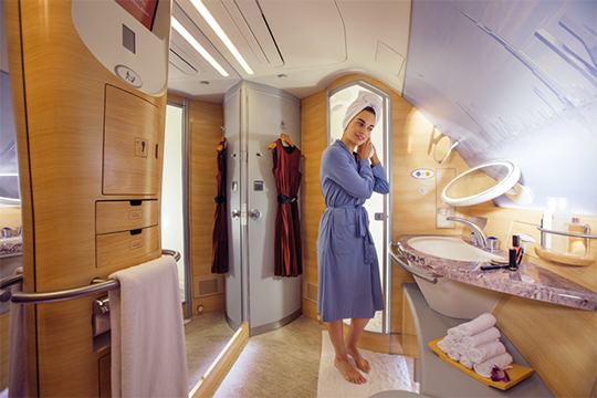 Airline Bathroom