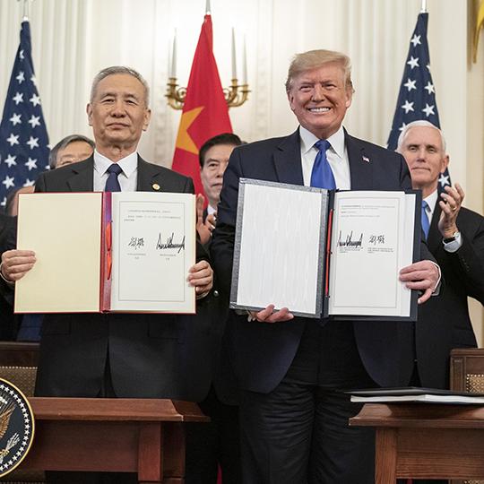 Trump Signatures