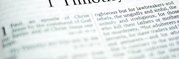 A Biblical Theology of the Letters to Timothy and Titus
