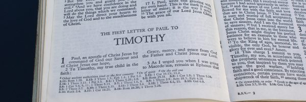 A Theology of the Letters to Timothy & Titus: Place in the Canon