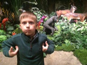Jonas at Creation Museum
